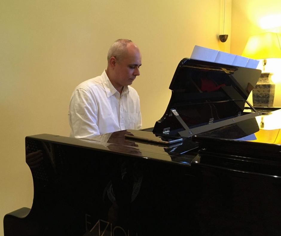 David piano site